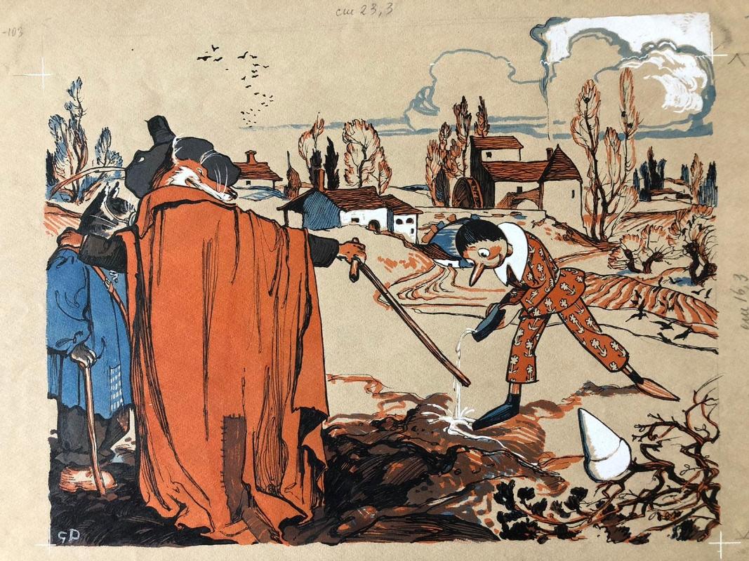 Giuseppe Porcheddu, illustratore dei sogni