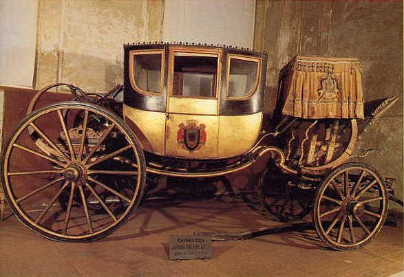 La carrozza di Napoleone a Venaria Reale