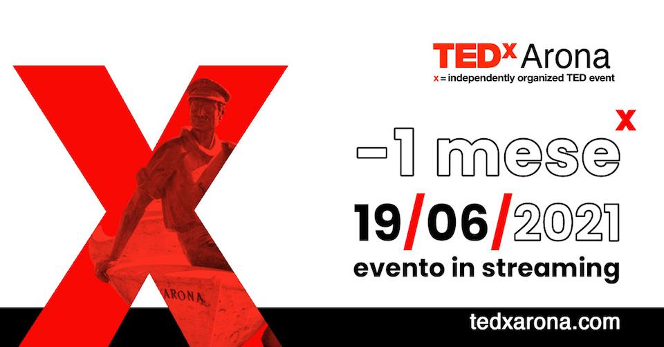 TEDxArona – I edizione IN STREAMING