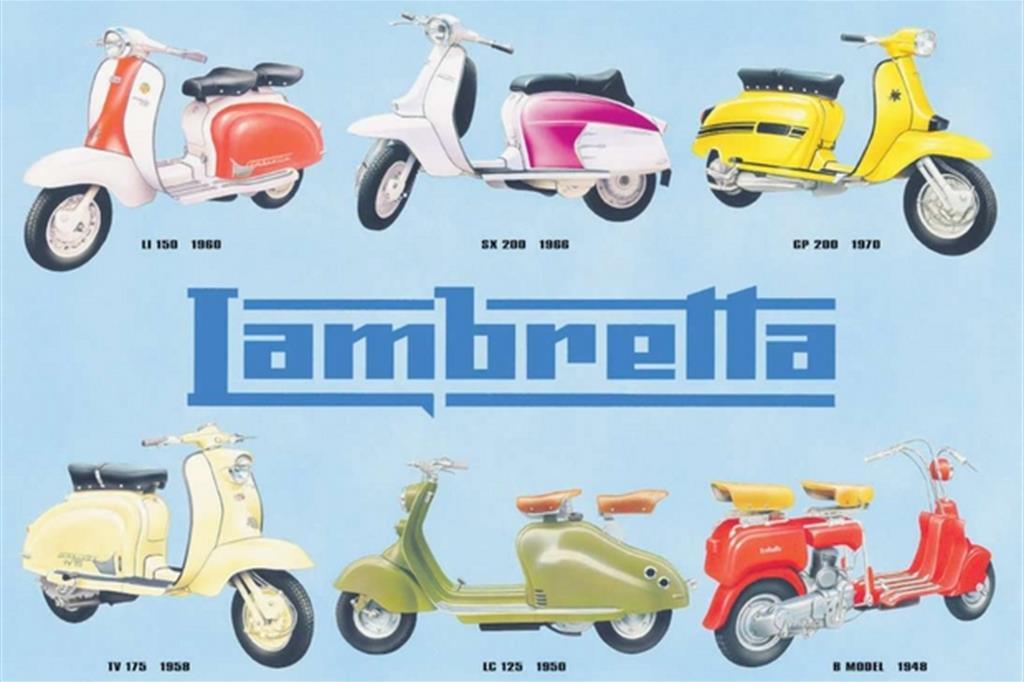 La rombante storia della Lambretta