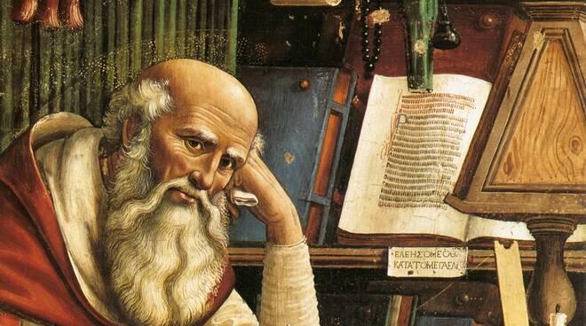 San Girolamo, filologo della Bibbia