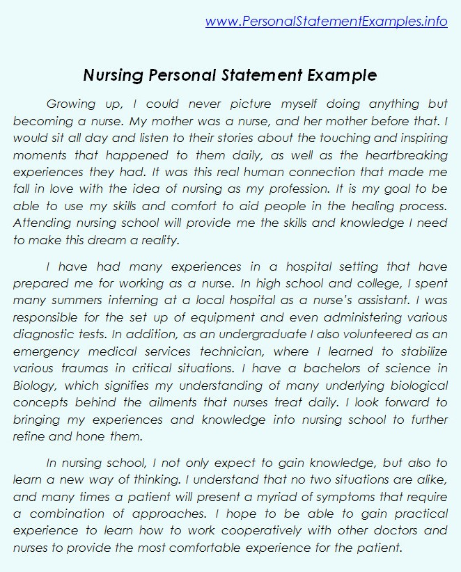 Personal statement for pgce