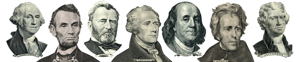 Did Presidents Washington, Lincoln, Grant, Hamilton, Franklin, Jackson, and Jefferson eat healthy?