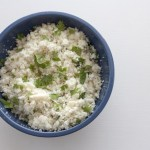 Cilantro Lime Cauliflower 'Rice'