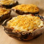 3 Cheese Portobello Mushrooms