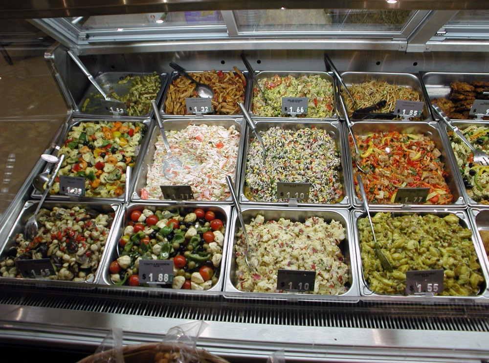 Junk Food Salad Bar