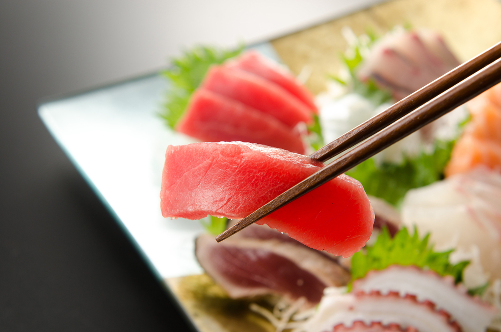 Sashimi is a terrific choice to help you lose weight while eating out while on the Personal Trainer Food program.