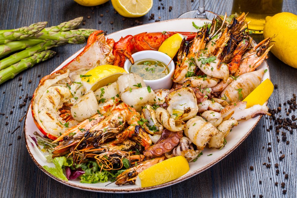You can lose weight eating unlimited meat on Personal Trainer Food, and that includes unlimited seafood!
