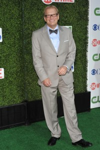 Dapper Drew Carey after losing 80 pounds by cutting sugar.