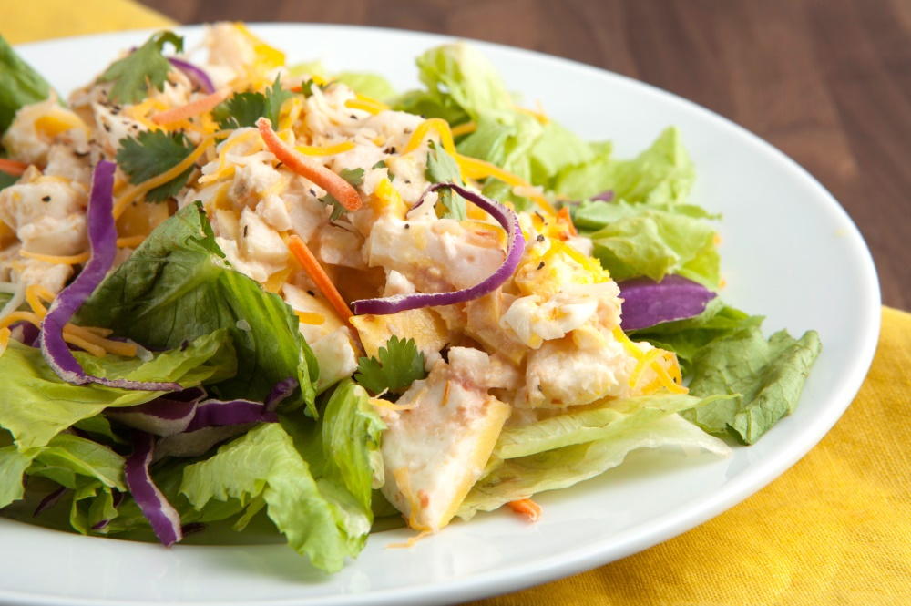 Lose weight with delicious Personal Trainer Foods foods like this breakfast taco salad.