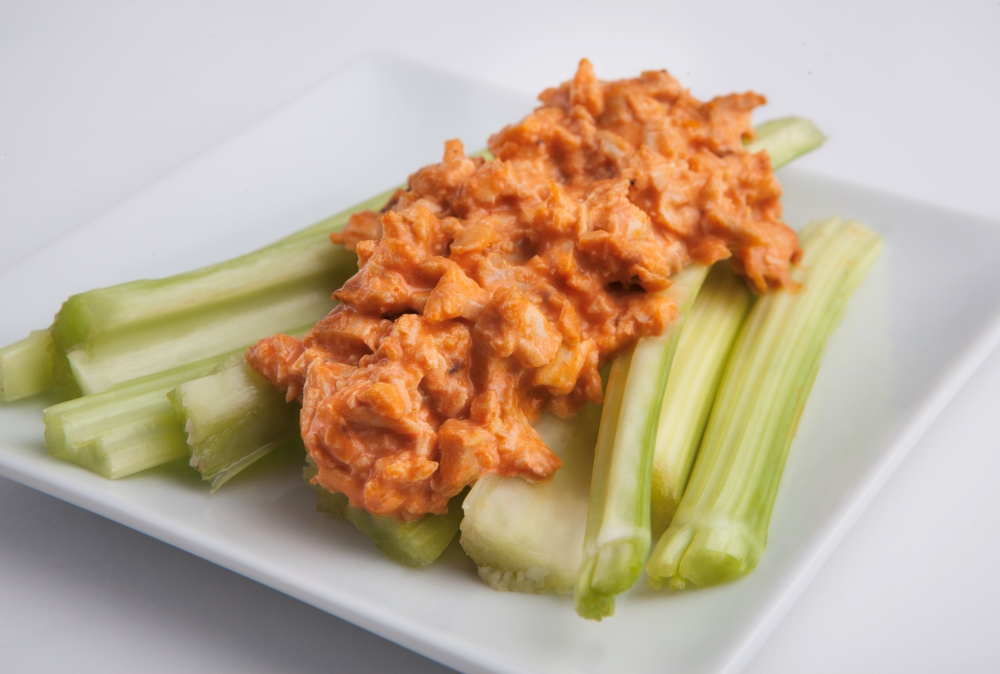 Weight loss and low-carb can be easy and delicious with this Buffalo Chicken recipe from Personal Trainer Food.