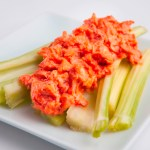 Buffalo Chicken Celery Sticks
