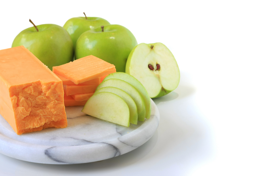 An apple a day will help you lose weight along with Personal Trainer Food; use sliced apples in place of crackers.