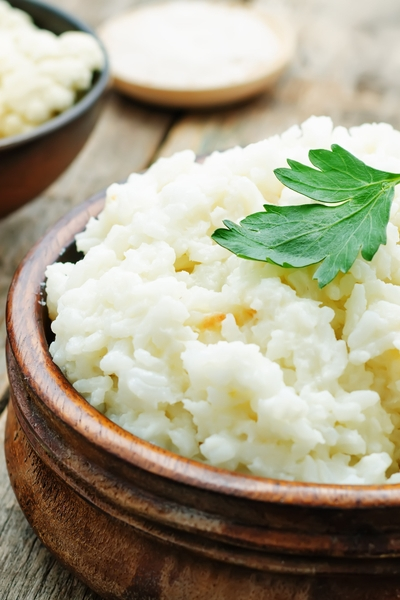 Pin this to learn about more healthy low-carb swaps: Zest some Personal Trainer Food cauliflower as a delicious rice replacement!
