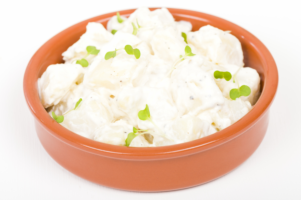 Potato salad is a fat-bomb; but Personal Trainer Food guidelines can help you avoid weight gain.