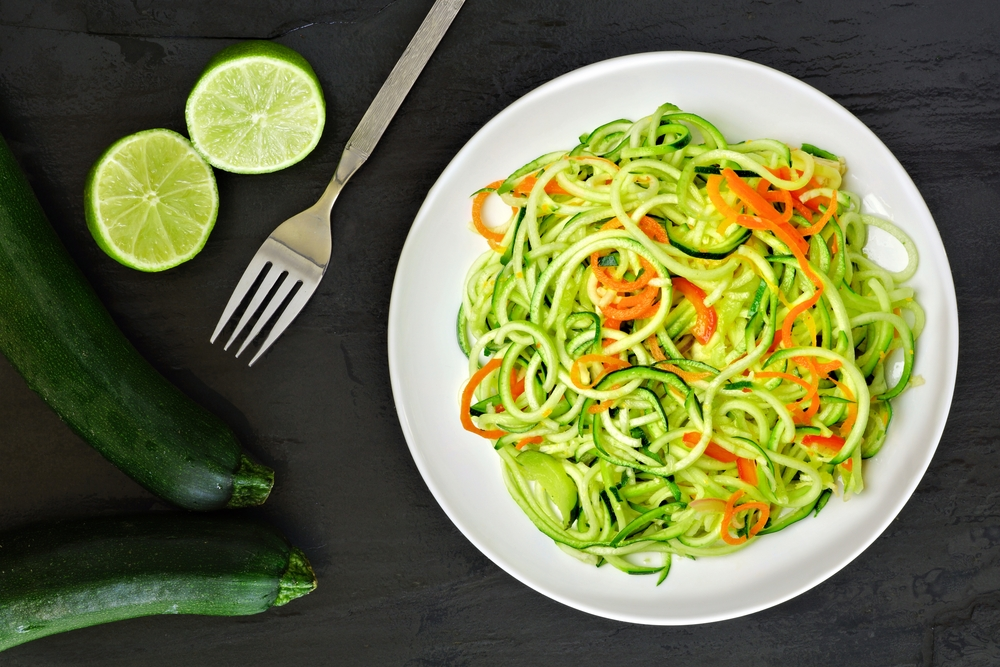 Follow Personal Trainer Food Guidelines to lose 10 to 20 pounds in just one month with delicious foods like zucchini noodles.