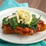 Easy Italian Spinach Provolone Chicken
