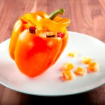 Spicy Stuffed Bell Pepper
