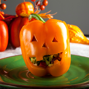 Try this Personal Trainer Food low-carb meal on Halloween; it's so delicious that you won't crave the candy!