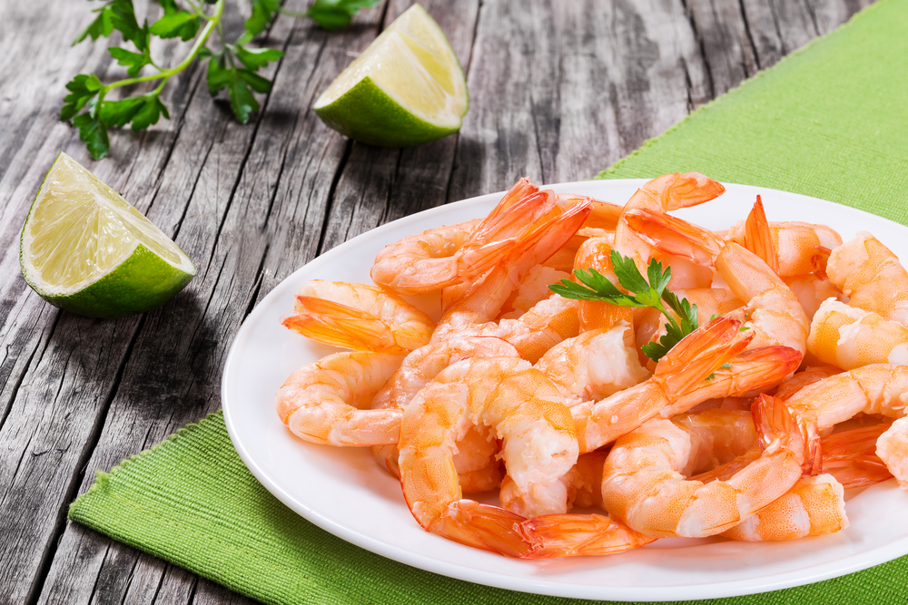 Snacking on high protein shrimp is perfect to help you lose weight, like Personal Trainer Food.