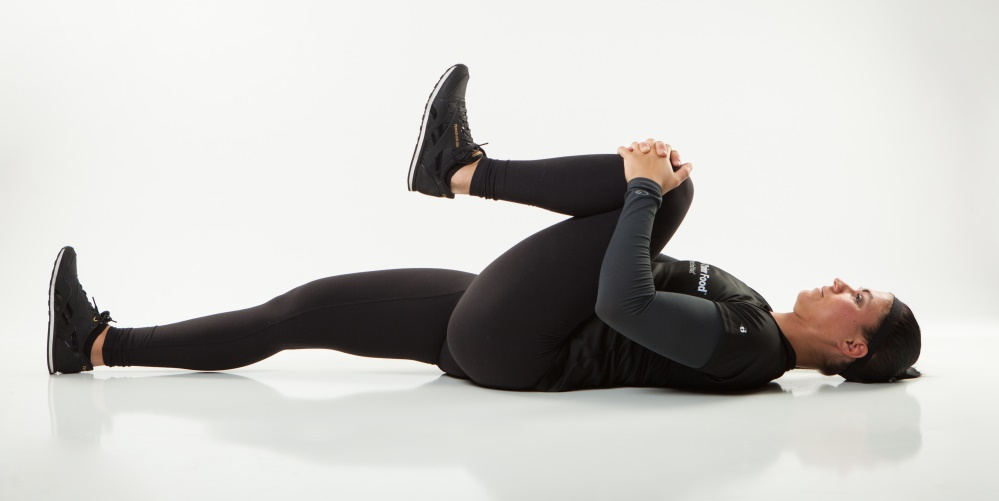 Low back pain is a real problem, but it can be helped with this floor stretch from Personal Trainer Food that you can do at home without a gym.