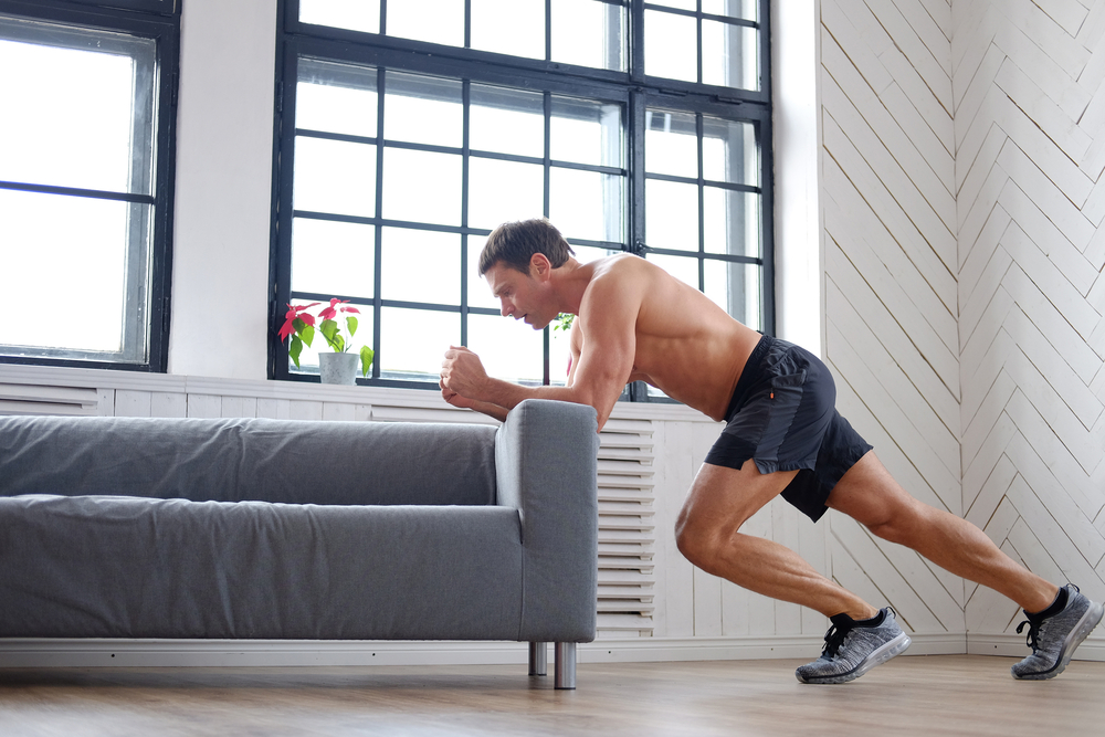 Yes, you can sculpt and chisel your body in front of the TV by doing some simple exercises as you watch your favorite shows on Netflix; try this home workout routine from Personal Trainer Food today!