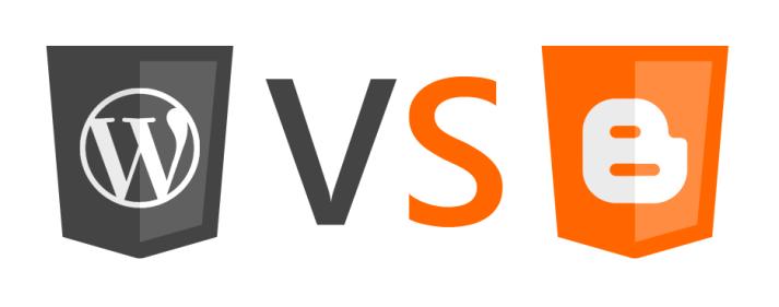 Znalezione obrazy dla zapytania wordpress vs blogger