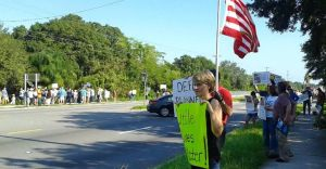 Planned Parenthood Protest Tampa FL August 22 2015