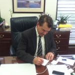 Senator Thad Altman Signs Personhood Amendment