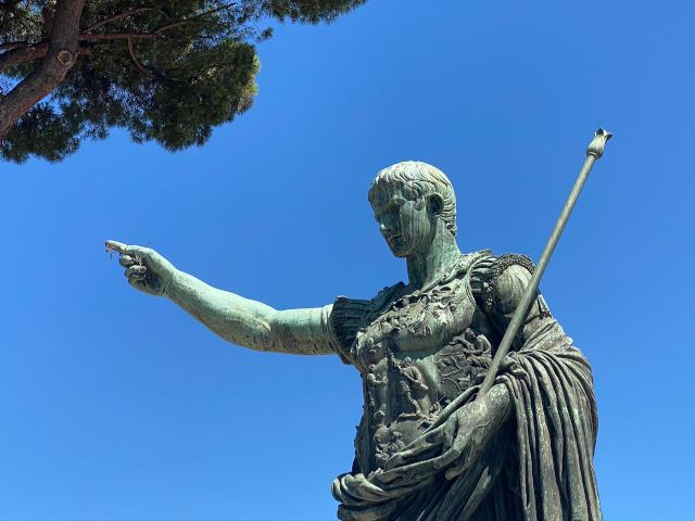 Beeldenstorm in Rome