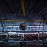 Flood Water - The flooded Power House of a Titan 1 missile base.