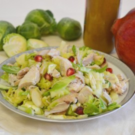 Sweet & Crunchy Brussels Sprout Salad