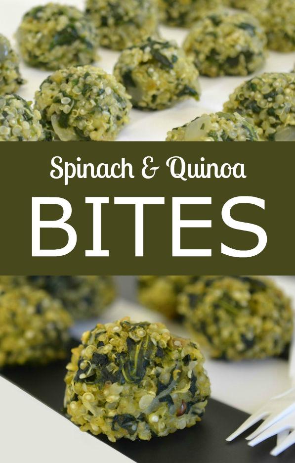 Spinach Quinoa Bites