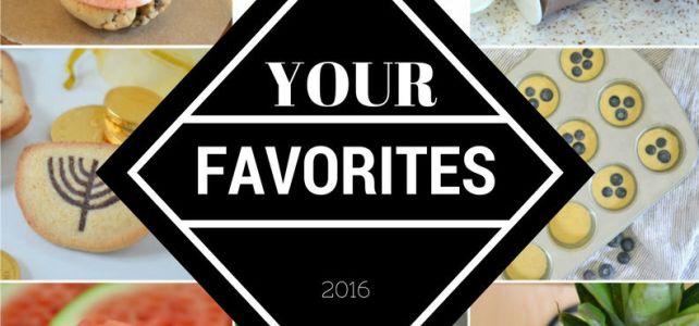 Top 10 Favorite Recipes of 2016