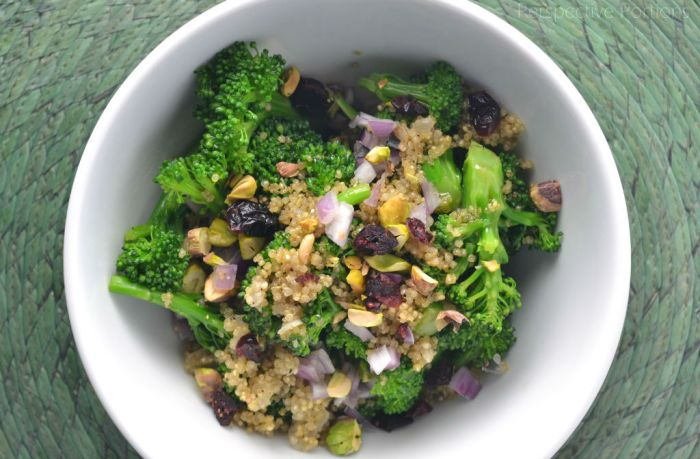 9 Passover Salad Ideas - Broccoli Quinoa