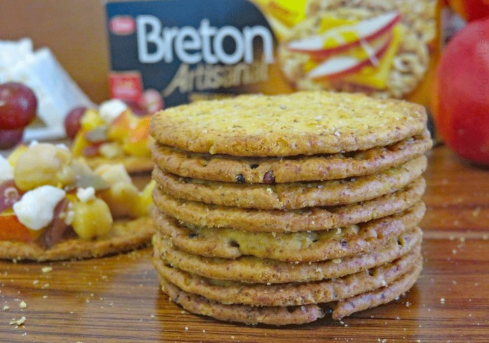 Breton Artisanal Sweet Potato & Grains crackers