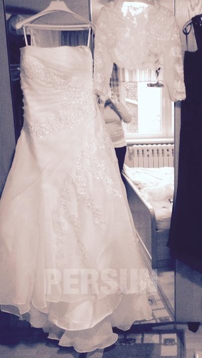 avis photo robe de mariage persun.fr achetée 2015
