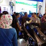 Cutting unit Yamaha NMAX VVA di booth Yamaha - Indonesia International Motor Show (IIMS) 2016 Pertamax7.com 1