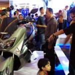 Cutting unit Yamaha NMAX VVA di booth Yamaha - Indonesia International Motor Show (IIMS) 2016 Pertamax7.com