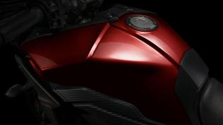 Fuel tank Yamaha MT09 Tracer EU Lava Red Action