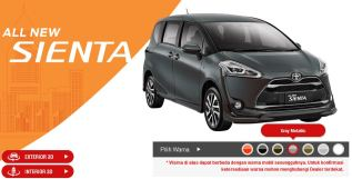 Toyota Sienta Warna gray metallic
