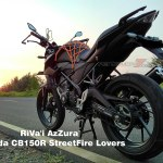 All new Honda CB150R Knalpot Tiger Revo Pertamax7.com