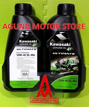 Oli Mesin Kawasaki KGO Ultimate Full Synthetic 10W-40 (1L) pertamax7.com
