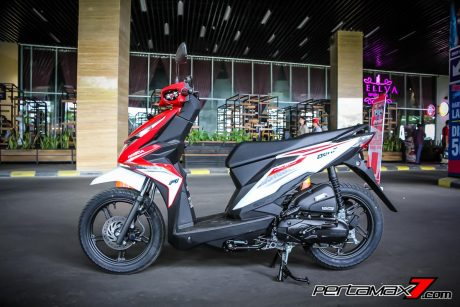 Tampak Samping Kiri All New Honda BeAT eSP 2016 Pertamax7.com_