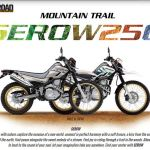 Yamaha Serow 250 Mountain Trail Made In Japan pertamax7.com