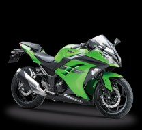 Kawasaki Ninja 250 FI Warna Hijau Model 2017 Indonesia