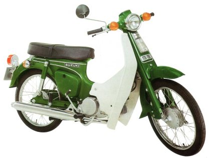Suzuki FR50 green Bacon 800