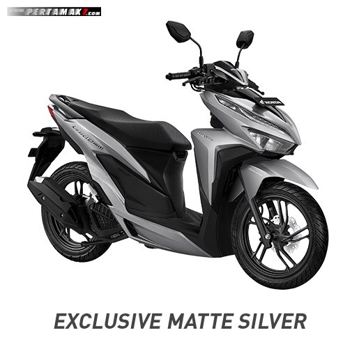 All new Honda Vario 150 Warna Silver Doff P7