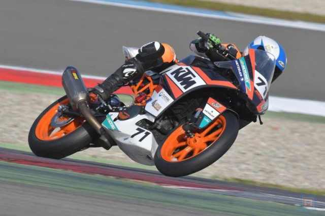 Koen Meuffels Ktm Fortron Junior Team RC 390 R a