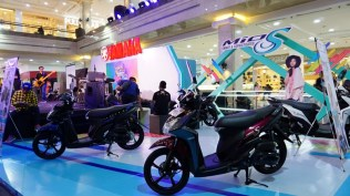 Display Mio S di event Blue Core Yamaha Motor Show (BYMS)